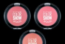 New! Maybelline Color Show Blush