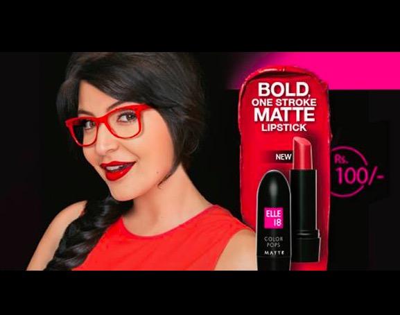 New! Elle 18 Color Pops Matte Lipstick