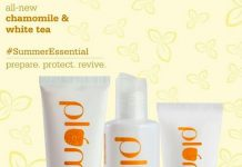 New! Plum Chamomile & White Tea Sun Protection Range