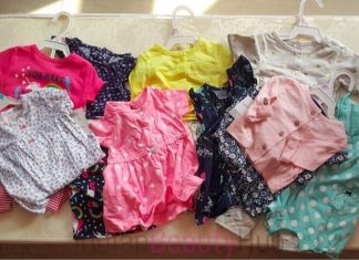 Carter's Baby Girl's Clothing Haul