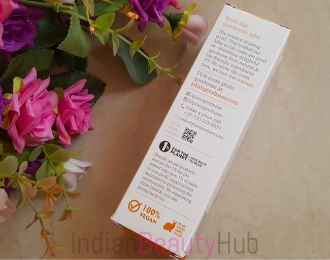 Plum Chamomile & White Tea Sheer Matte Day Cream SPF50 Review_4