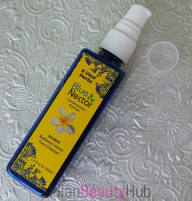 Blue Nectar (Shubhr) Radiance Honey Face Cleanser Review_3
