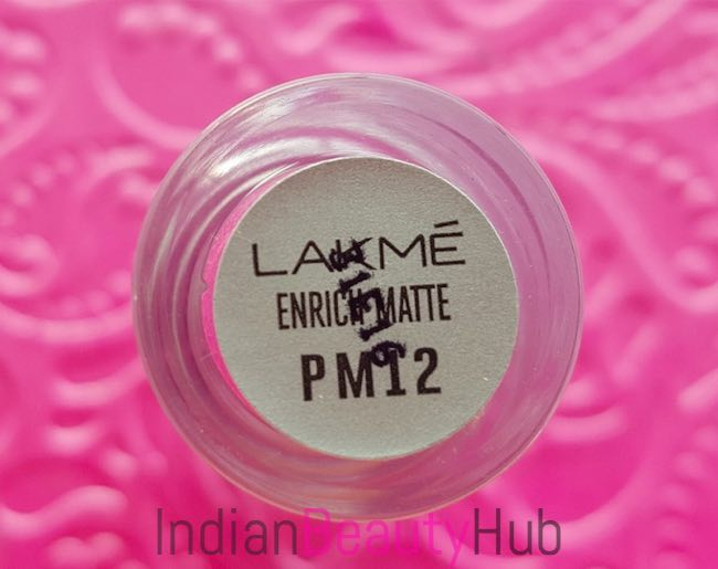 New Lakme Enrich Matte Lipsticks Review & Swatches_0