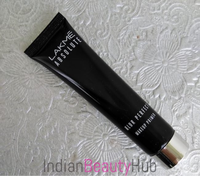 Lakme Absolute Blur Perfect Makeup Primer Review_1