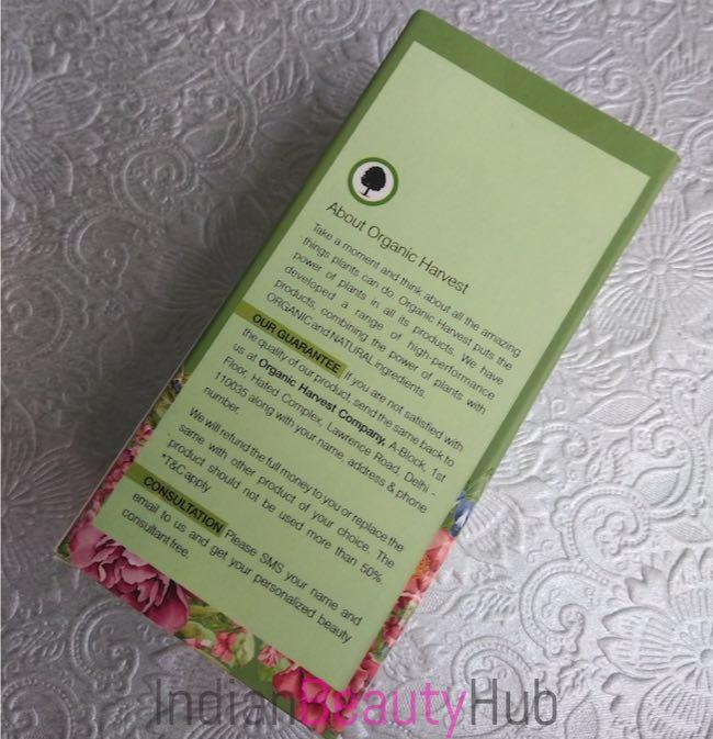 Organic Harvest Hair Oil for Dandruff Free Hair Review_5