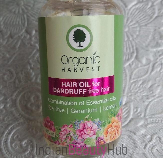 Organic Harvest Hair Oil for Dandruff Free Hair Review_6