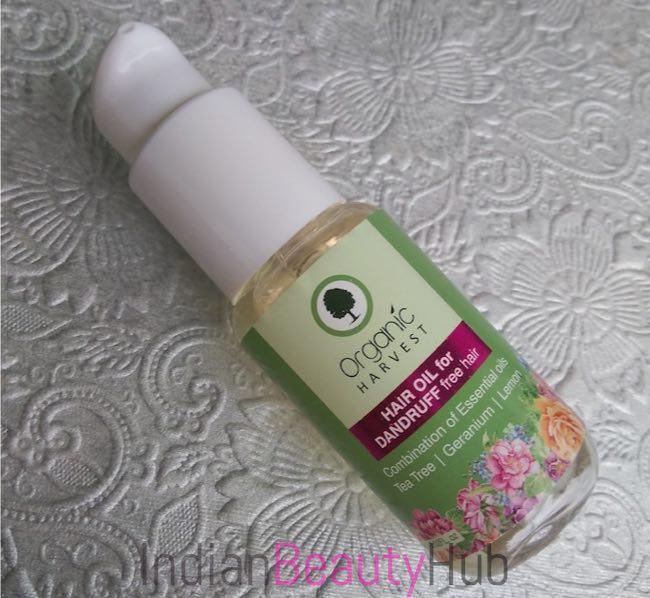 Organic Harvest Hair Oil for Dandruff Free Hair Review_7