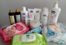 skincare routine for babies