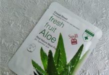 Mirum Crosel Sheet Fresh Fruit Aloe Real Nature Mask Pack Review