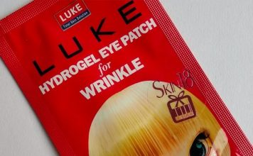 Luke Hydrogel Eye Patch for Wrinkles
