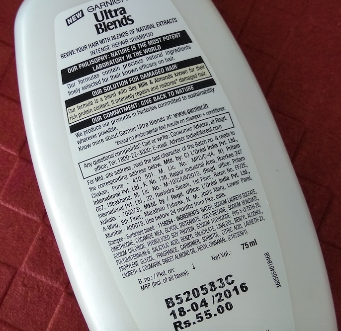 Garnier Ultra Blends Soy Milk & Almond Shampoo, Conditioner Review
