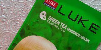 Luke Green Tea Essence Mask Review