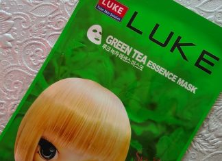 Luke Green Tea Essence Mask Review