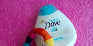 Baby Dove Nourishing Baby Lotion Review