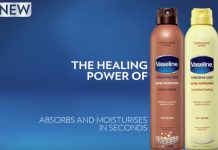 New! Vaseline Intensive Care Spray Moisturizers