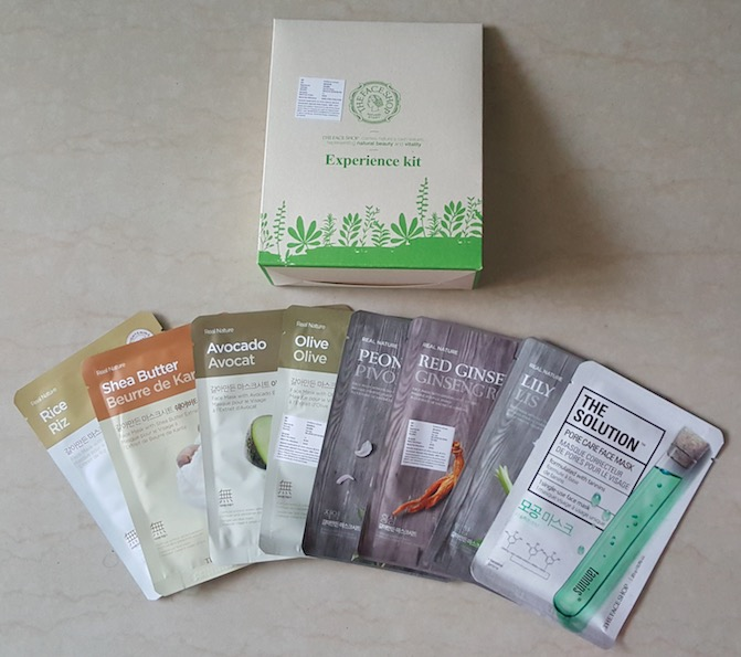 The Face Shop Beauty Products Haul from Amazon.in