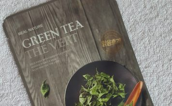 The Face Shop Real Nature Green Tea Sheet Mask Review
