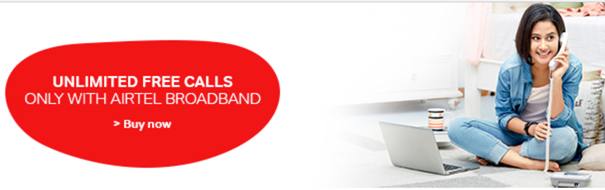 Airtel Broadband Plans 2017
