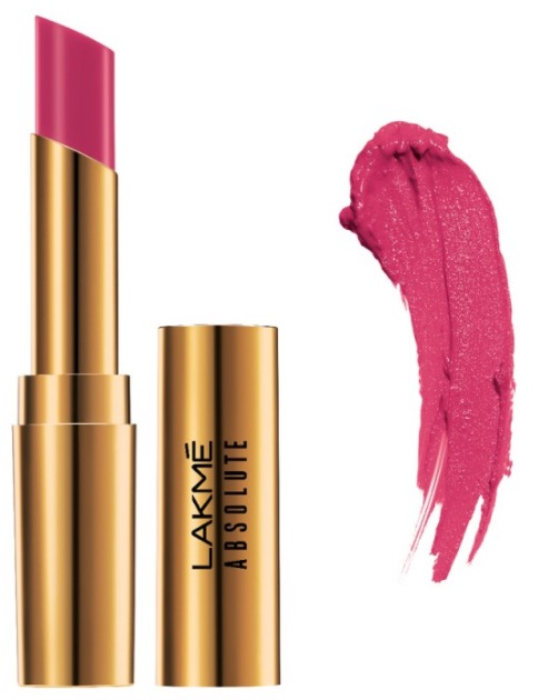 Lakme Absolute Argan Oil Lip Color Pink Satin
