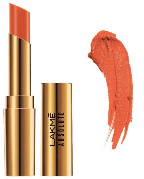 Lakme Absolute Argan Oil Lip Color Dewy Orange
