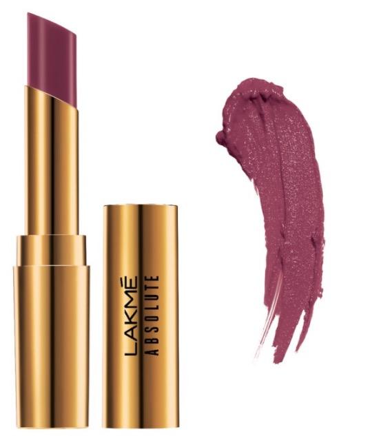 Lakme Absolute Argan Oil Lip Color Juicy Plum
