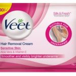 veet hair removal cream for underarms