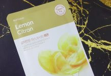 The Face Shop Real Nature Lemon Sheet Face Mask Review