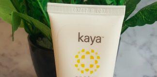 Kaya Ultra Light Aqua Sunscreen Gel SPF25 Review