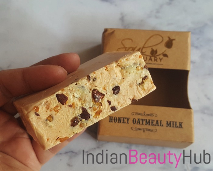 Soul Sanctuary Honey Oatmeal Milk Soap Review