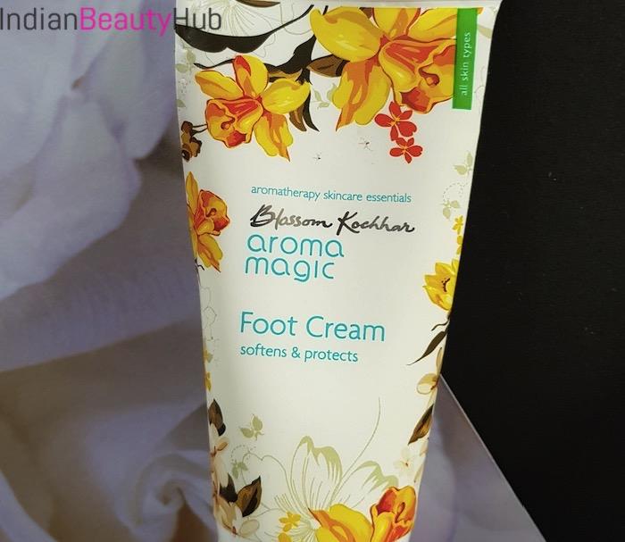 Blossom Kochhar Aroma Magic Foot Cream Review