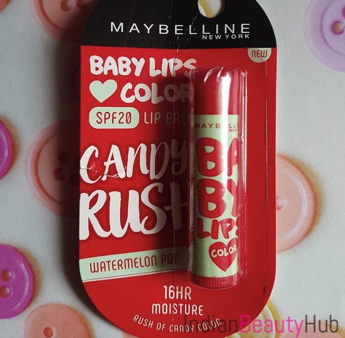 Maybelline Baby Lips Candy Rush Lip Balm Watermelon Pop