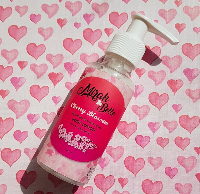 Mirah Belle Cherry Blossom Body Lotion Review