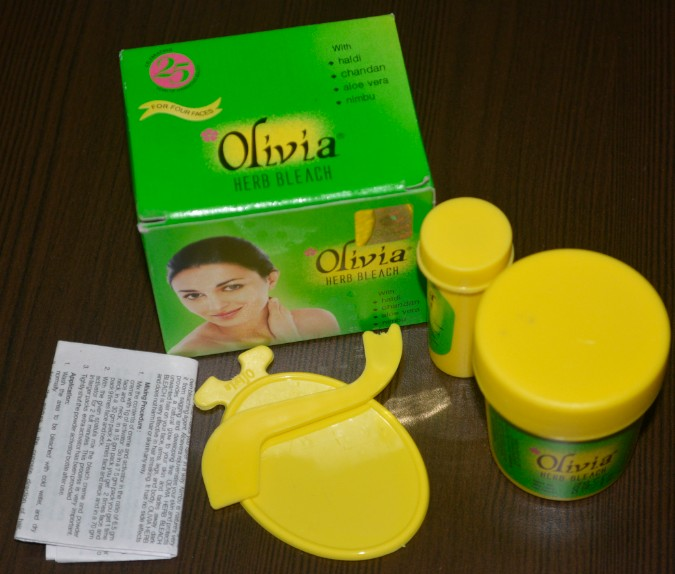 olivia herb bleach cream