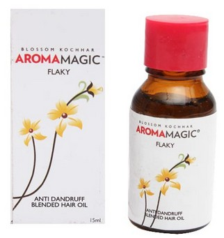 aroma magic flaky anti dandruff hair oil