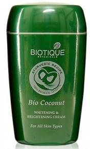 biotique bio coconut whitening cream