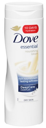 dove essential nourishment lotion
