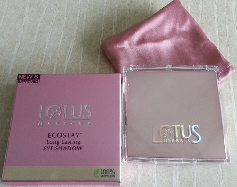 lotus herbals ecostay long lasting eyeshadow rainbow passion