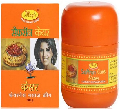 natures essence saffron massage cream