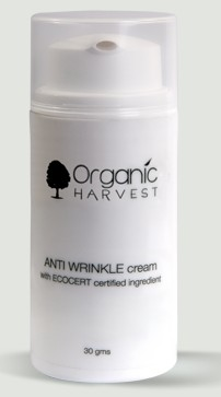 organic harvest anti wrinkle cream