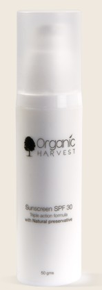 organic harvest sunscreen spf 30