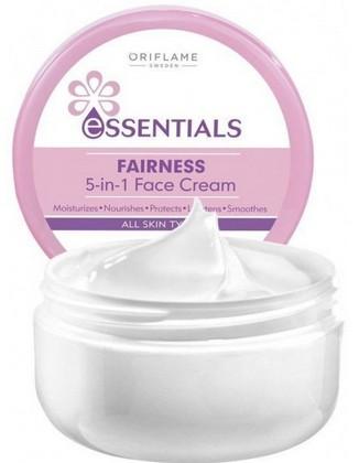 oriflame essential fairness 5-in-1 fairness cream