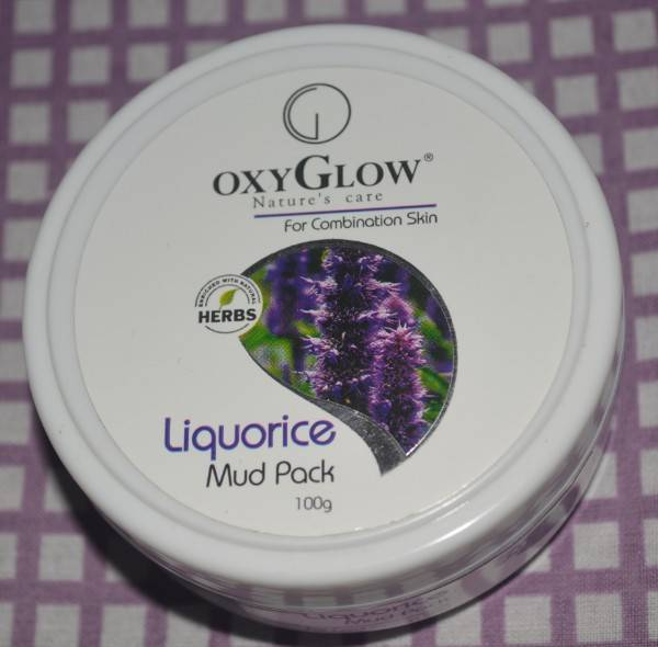 oxyglow liquorice mud pack 3