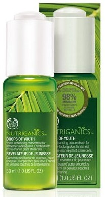 thebodyshop nutriganics drops of youth