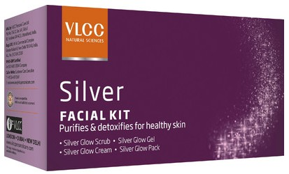 vlcc silver glow facial kit