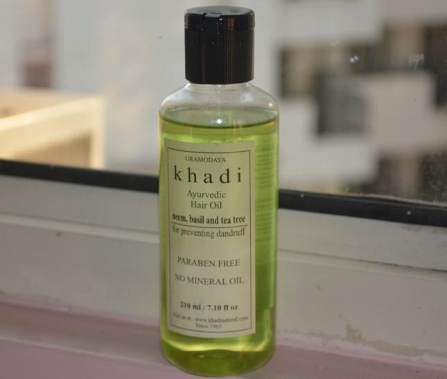 khadi anti dandruff hair oil 3