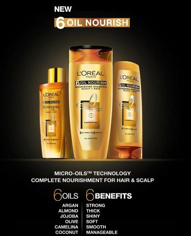 loreal 6 oil nurish