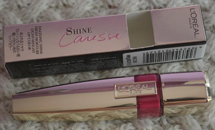 loreal shine caresse eve lip stain 3
