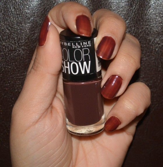 maybelline color show choco