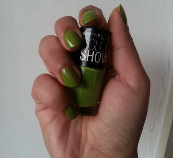maybelline color show mint mojito 2