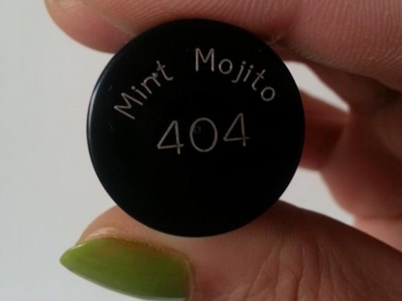 maybelline color show mint mojito